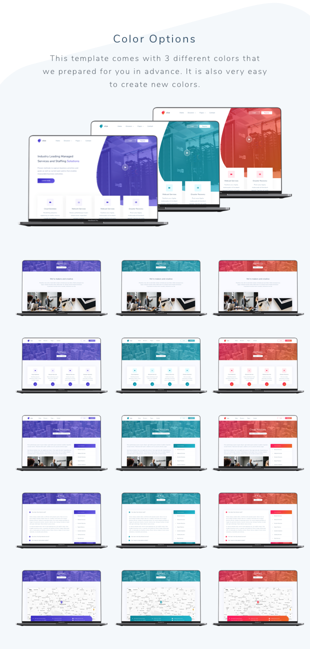 Alya - IT Solutions and Corporate Template - 1