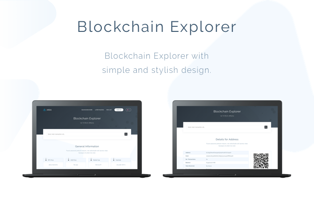 Arda - Bitcoin and Cryptocurrency ICO HTML Template - 3