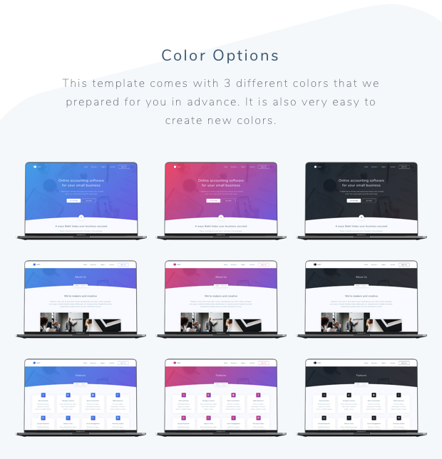Babil - Startup and SaaS template - 2