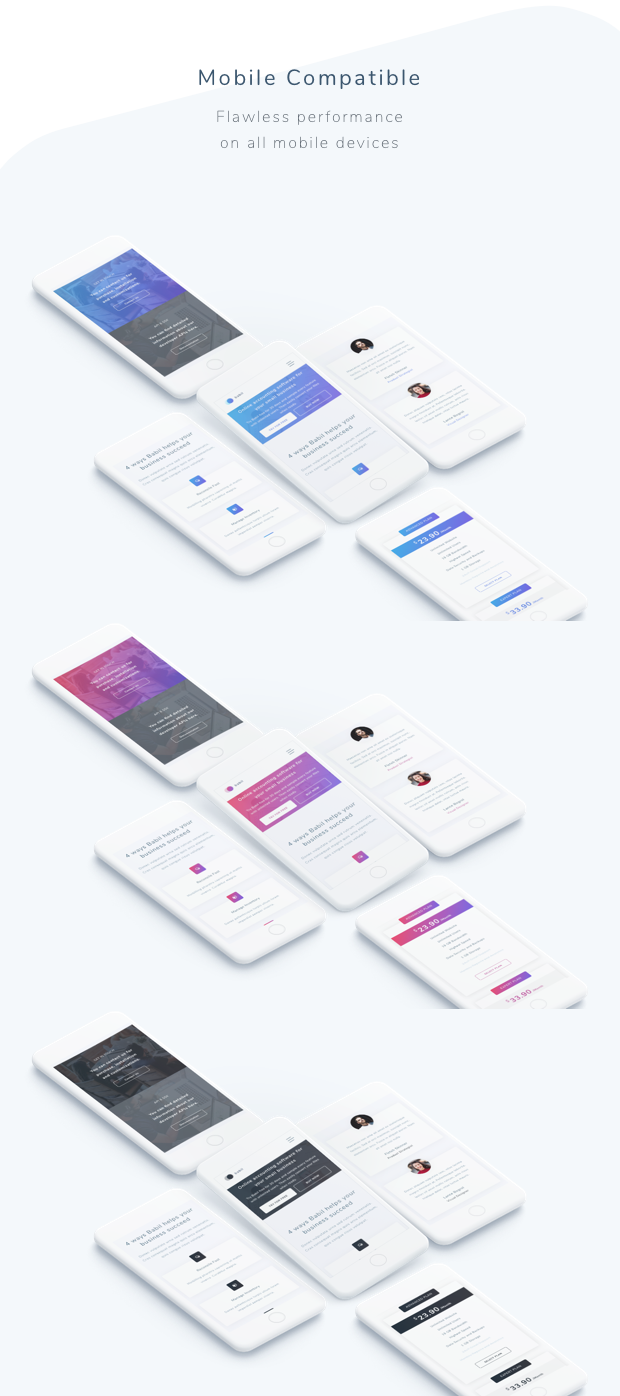Babil - Startup and SaaS template - 3