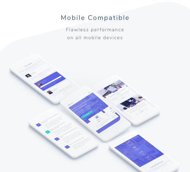 Lintor - Mobile App Development Agency Template - 2