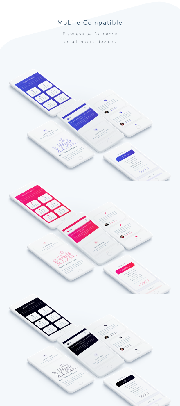 Zaha - Agency and SaaS Template - 2